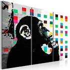Non-woven Canvas Wall Art Image Photo Print Decor Banksy 9 patterns 030115-3