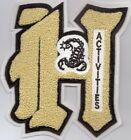 HESPERIA -SCOPRIONS-ACADEMICS-PATCH-6X6 1/2 INCHES-SUPER NICE
