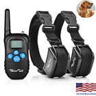 Kyпить Dog Shock Training Collar Rechargeable LCD Remote Control Waterproof 330 Yards на еВаy.соm