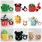 Airpods Case Cover 3D Cute Cartoon Silicone Case For Apple Airpods Accessories $7.59  on eBay