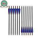 Aluminum Crossbow Arrows with High Impact Bolts for Hunting Crossbow 16/18/20/22