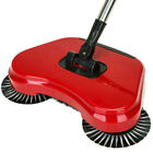 Spin Hand Push Sweeper Broom Household Floor Dust Cleaning Mop No Electricity