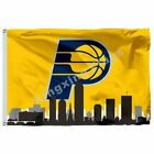 Indiana Pacers Indiana Skyline Flag 3x 5Ft Polyester Nba1 Team Banner 90*150Cm on eBay