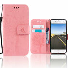 Luxury Leather Wallet Card Holder Folding Phone Case For iPhone 5S 6S 7 8 Plus