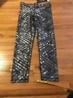 NWT Zara Terez Sequins Design Capri Leggings Sz Small