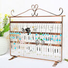 Kyпить 72 Holes Earring Jewelry Necklace Display Rack Metal Stand Holder Organizer US на еВаy.соm