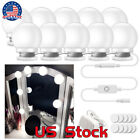LED Makeup Mirror Vanity Lamp Light Bulbs Kit 3 Levels Brightness Adjustable US