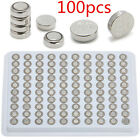 Lots CR2032 AG1 AG3 AG4 AG10 AG7 Alkaline Button Coin Cells Watch Battery Sturdy