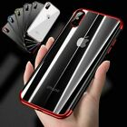 For iPhone XS Max Phone Case Ultra Thin Electroplate Soft Rubber Bumper Cover