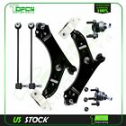 6x Front Control Arms Ball Joints Sway Bar Links For 2006-2009 Volkswagen & Audi