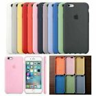 For iPhone 8 7 Plus X XS XR XSMAX 6 6S Plus Original Silicone Cover Phone Case