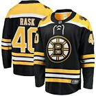 Fanatics Branded Tuukka Rask Boston Bruins Black Breakaway Home Jersey