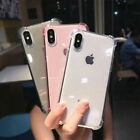 Bling Glitter Transparent Silicone Case Cover For i Phone XS Max XR X 8 7 Plus 6