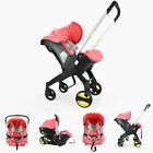4 in1 Luxury Newborn Baby Stroller Infant Portable Without Base