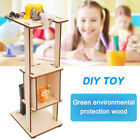 DIY Assemble Electric Lift Toys Kids Science Experiment Material Kits Toys Gifts
