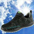 Safety Trainer Shoes Lightweight Steel Toe Cap Work Flyknit Work Breathable WF35