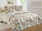 ALL FOR YOU 3pc Reversible Bedspread, Coverlet,Quilt Set- Pattern 119 image