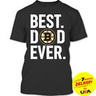 Best Dad Ever Boston Bruins T-shirt, Father's Day 2019 T-shirt Full Size S-2XL $15.99 USD on eBay