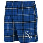 Concepts Sport Kansas City Royals Royal/Black Ultimate Flannel Boxer Shorts on Ebay