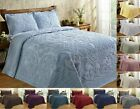 Better Trends Ashton 100% Cotton Tufted Chenille Bedspread Assorted Sizes Colors image