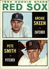 1964 Topps Baseball Card #428 Rookie Stars Archie Skeen RC Pete Smith RC - VG