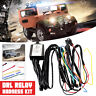 LED DRL Daytime Running Strob Light Dimmer Relay Control Switch Harness Car