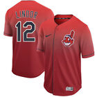 Francisco Lindor 12 Cleveland Indians Mens Red Home Game Jersey