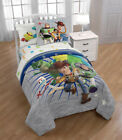 Внешний вид - Toy Story 4 Bed-in-a-Bag Bedding Kids Set w/ Buzz Woody Rex Forky Gift 2 Sizes