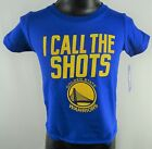Golden State Warriors Toddler's Shot Caller SS Short Sleeve Tee in Royal by NBA on eBay