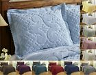 Better Trends Ashton 100% Cotton Tufted Chenille Shams in Assorted Sizes Colors image