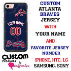 ATLANTA BRAVES BASEBALL PHONE CASE COVER NAME & # FITS iPHONE SAMSUNG GOOGLE LG on Ebay