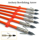 Fiberglass Shaft Archery Arrows, Bow Fishing Arrows for Compound& Recurve Bow