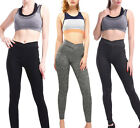 Women Sport Yoga Pants Workout Gym Fitness Leggings Stretchy Trousers Sportswear