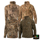 NEW DRAKE WATERFOWL MST CAMO CAMP FLEECE PULLOVER
