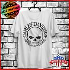 Harley Davidson T-Shirt Willie G Skull White T Shirt Full Size S-6XL Limited! $18.99 USD on eBay