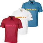 Oakley Mens 2019 74 Auto Lightweight Breathable Golf Polo Shirt