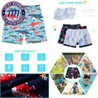 Funnycokid Boys Swim Trunks Quick Dry Kids Water Resistant Beach Board Shorts 4-