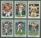 2013 Topps Gypsy Queen (1-350 w/ SP) Baseball Set ** Pick Team ** See Checklist