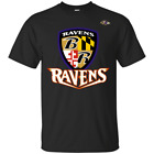 Fan Baltimore Ravens Shield Logo National Football League Shirt Men's S-5XL $24.95 USD on eBay