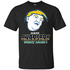 Funny Donald Trump I Made The Chargers Great Again Shirt Los Angeles  NFL Team $19.95 USD on eBay