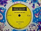 """CHAD VALLEY CHILDREN`S RECORDS """" PUSS IN BOOTS """" EX COND. IN Or. SL."""