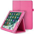 Fosmon PU Leather Folding Folio Stand Case w/ Stylus Slot for Apple iPad Air 2