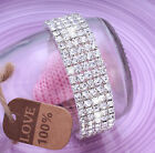 Full Crystal Rhinestone Bracelet Bangle Women Ladies Jewellery Wedding Party <br/> Buy 2 Get 1 Free✅add 3 to basket✅Fast & Free Shipping