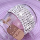 Full Crystal Rhinestone Bracelet Bangle Women Ladies Jewellery Wedding Party