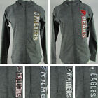 NFL Women's Gray Activewear Full Zip Hoodie on eBay