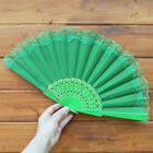Chinese Style Lace Hand Held Folding Fan Dance Party Wedding Decor