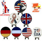 Golf Ball Marker Hat Clips Magnetic Cap Clip Hat Golfer Ball Markers Set UK NEW