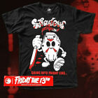 SHADOW CONSPIRACY INTO FRIDAY s/s T SHIRT BMX SUPREME OBEY FRIDAY THE 13th BLACK image