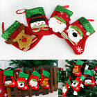Christmas Stockings Socks Santa Claus Candy Gift Bag Xmas Tree Decor Festival