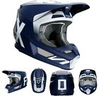 New 2020 Fox Racing V1 Werd Helmet Navy All Sizes UTV ATV MX